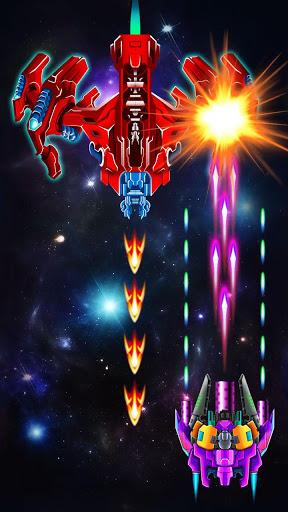 galaxy attack alien shooter apk mod free download 2