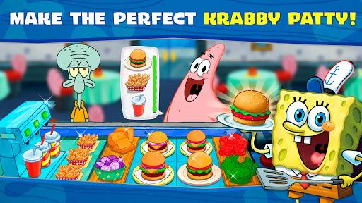 spongebob krusty cook off apk mod free download 2