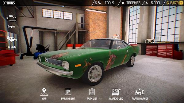 car mechanic simulator mod apk