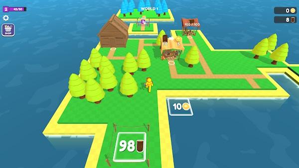 craft island mod apk