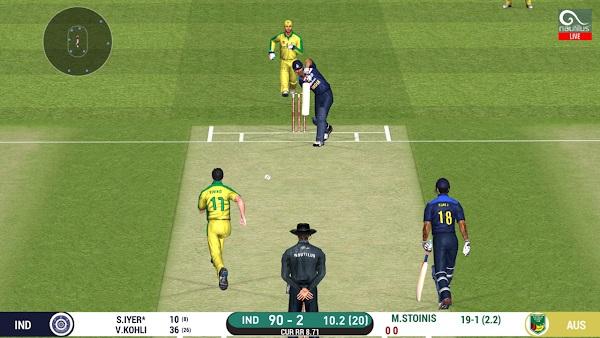 real cricket 20 apk latest version