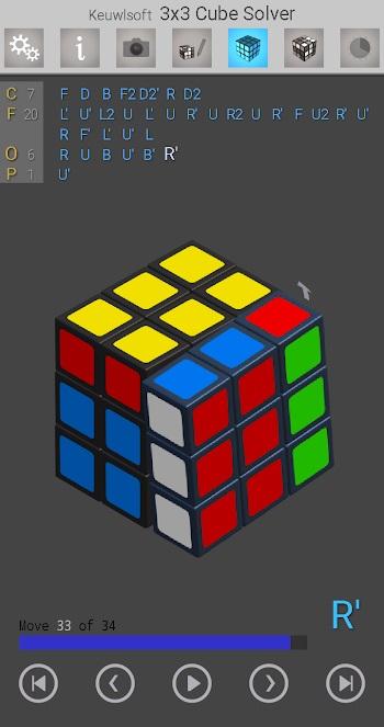 3x3 cube solver mod apk