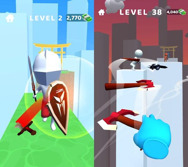 download sword play ninja slice runner 3d mod apk free for android