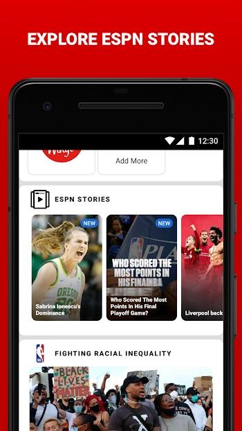 espn mod apk (No ads) free download latest version