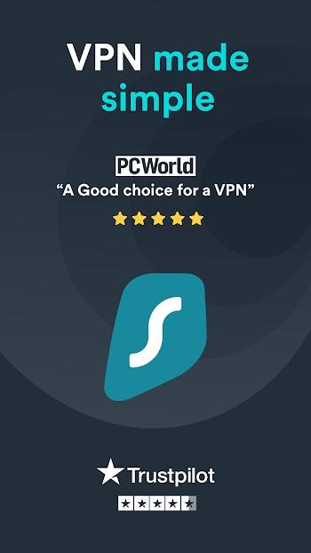 surfshark vpn premium mod apk
