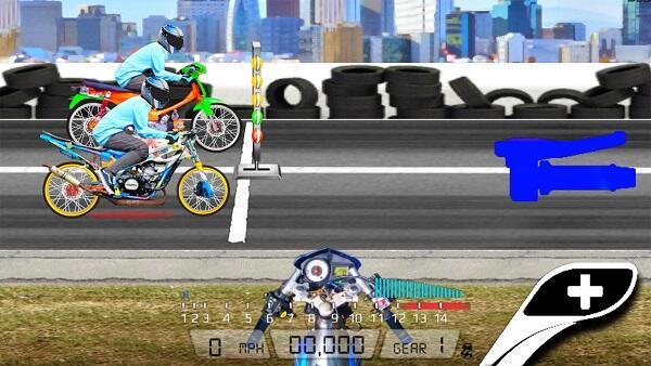 drag bike 201m mod apk