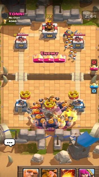 master clash royale mod apk