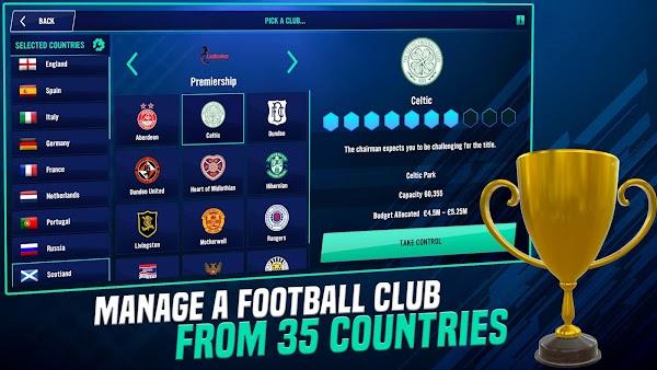 soccer manager 2022 apk gratis