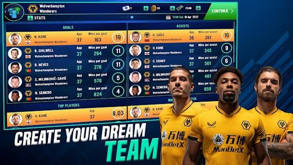 soccer manager 2022 mod apk download