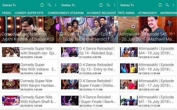 gomax live tv mod apk