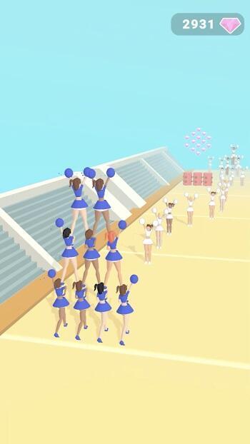 cheerleader run 3d apk free download