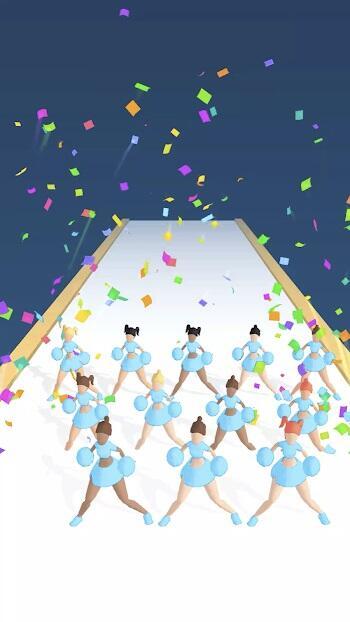cheerleader run 3d mod apk
