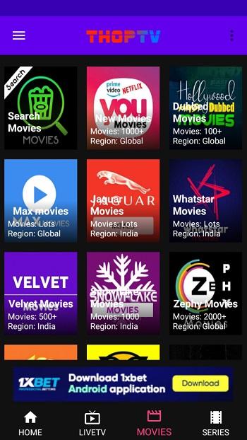 Thop tv apk latest version