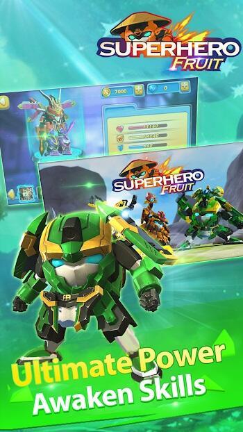 download superhero fruit premium apk for android