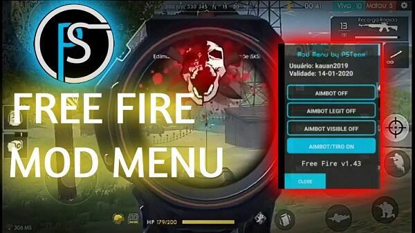 ps team mod menu free fire download latest version