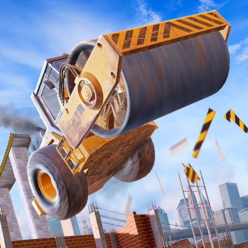 Construction Ramp Jumping Mod APK 0.2.0 (Unlimited money)