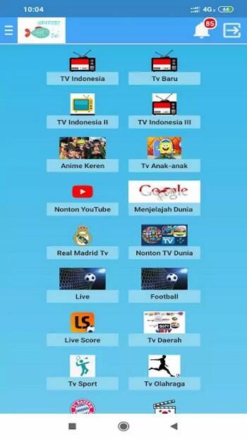 gratisoe tv mod apk