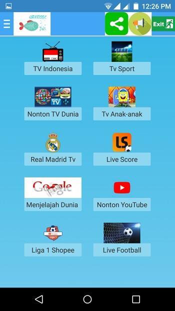 gratisoe tv mod apk unlocked all