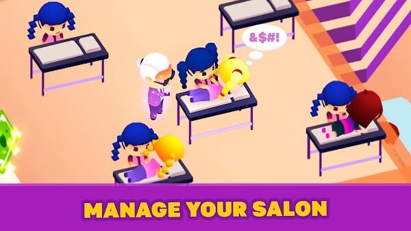 idle beauty salon apk latest version
