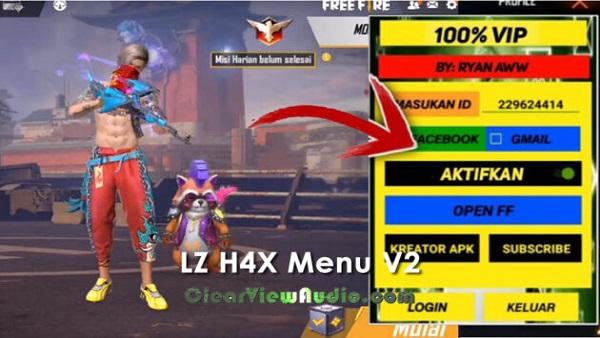 lz h4x menu v2 mod apk