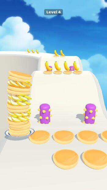pancake run mod apk unlimited money