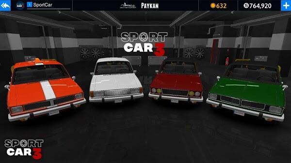 sport car 3 mod apk