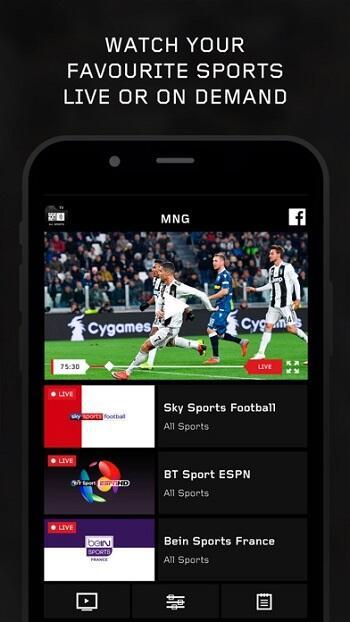 sports live tv apk free download