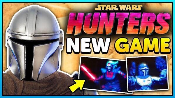 star wars hunters apk game play
