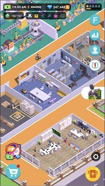 super factory tycoon mod apk latest version