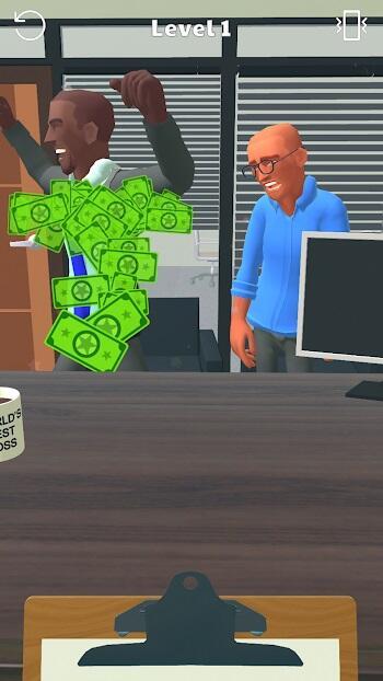 boss life 3d mod apk unlimited money