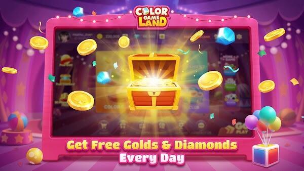 color game land mod apk download