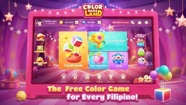 color game land mod apk unlimited money free download