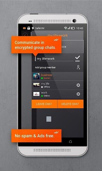 download secure messenger safeum mod apk for android