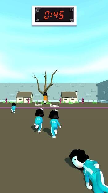 pink game squid fish game mod apk