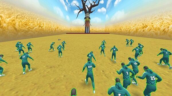 squid game 3d mod apk unlimited money